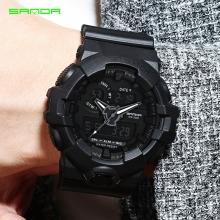 Đồng hồ Thể Thao SANDA Chính Hãng Chống Nước - #770 (Đen)