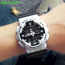 Đồng hồ Thể Thao SANDA Chính Hãng Chống Nước - #899 (Đen Trắng)