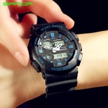 Đồng hồ Thể Thao SANDA Chính Hãng Chống Nước - #899 (Đen Xanh)