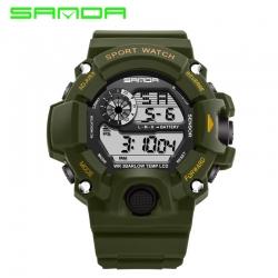 Đồng hồ Điện tử Thể Thao SANDA Chính hãng - #326 (Lục Quân)