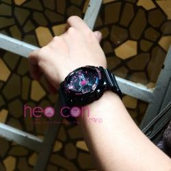 Đồng hồ Thể Thao Nữ SANDA Chống Nước - #292 (Đen Hồng)