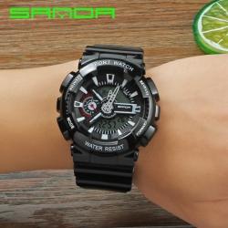Đồng hồ Thể Thao SANDA Chính Hãng - #299 (Đen Bóng)