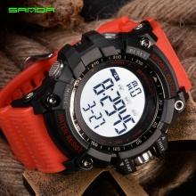 Đồng hồ Điện tử Thể thao SANDA Chính Hãng - 359 (Dây Đỏ)
