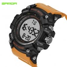 Đồng hồ Điện tử Thể thao SANDA Chính Hãng - 359 (Dây Vàng)