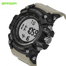 Đồng hồ Điện tử Thể thao SANDA Chính Hãng - 359 (Khaki)