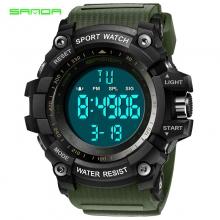Đồng hồ Điện tử Thể thao SANDA Chính Hãng - 359 (Lục)