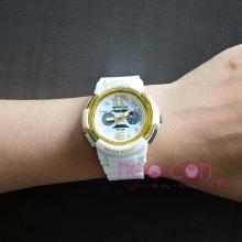 Đồng hồ Thể Thao Nữ SANDA Chính Hãng - #757 (Trắng Gold)