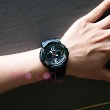 Đồng hồ Thể Thao Nữ SANDA Chống Nước - #757 (Đen)