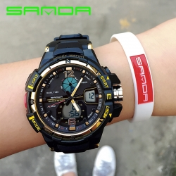 Đồng hồ Thể Thao Nữ SANDA Chính Hãng Chống Nước - #789 (Gold)