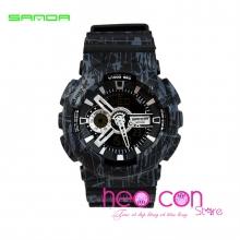 Đồng hồ Thể Thao SANDA Chính Hãng Chống Nước - #299 (SL Black)