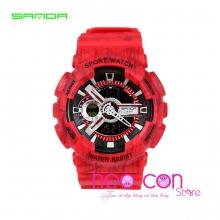 Đồng hồ Thể Thao SANDA Chính Hãng Chống Nước - #299 (SL Đỏ)