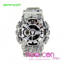 Đồng hồ Thể Thao SANDA Chính Hãng Chống Nước - #299 (SL Xám)