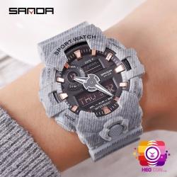 Đồng hồ Thể Thao SANDA Chính Hãng Chống Nước #700 (Grey)