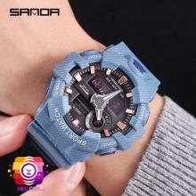 Đồng hồ Thể Thao SANDA CHính Hãng Chống Nước #700 (Denim Blue)