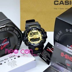 Đồng hồ G-Shock GA-710GB-1A Black & Gold Tone Replica Copy 1:1