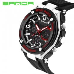 Đồng hồ Thể Thao Nam SANDA Chính Hãng Chống Nước #733 (Đỏ)