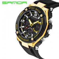 Đồng hồ Thể Thao Nam SANDA Chính Hãng Chống Nước #733 (Gold)