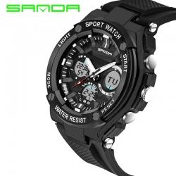 Đồng hồ Thể Thao SANDA Chính Hãng Chống Nước #733 (Black)