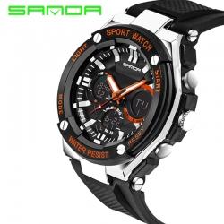 Đồng hồ Thể Thao SANDA Nam Chính Hãng Chống Nước #733 (Cam)