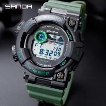 Đồng hồ Thể Thao Điện tử SANDA Frog Chính Hãng Chống Nước - 668