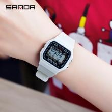 Đồng hồ Điện tử Classic SANDA Mặt Vuông Chính Hãng (8 Màu) - 391