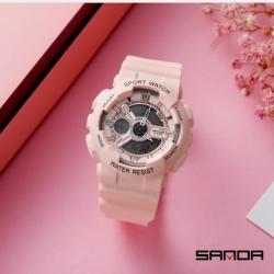 Đồng hồ Thể Thao Nữ SANDA Chống Nước CHính Hãng - 292(Hồng Phấn)