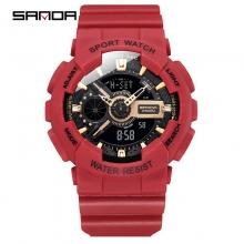 Đồng hồ Thể Thao Nữ SANDA Chính Hãng - 292 (RED GOLD)