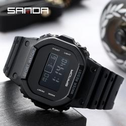 Đồng hồ Thể Thao Nam Nữ SANDA Mặt Vuông Chính Hãng - 293