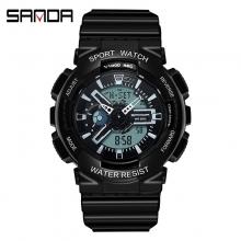 Đồng hồ Thể Thao Nữ SANDA Chống Nước - #292 (Đen)