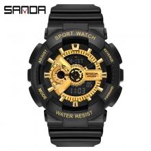 Đồng hồ Thể Thao SANDA Chính Hãng - #299 (Gold Black)