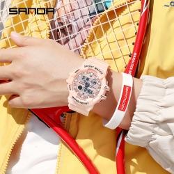 Đồng hồ Nam Nữ SANDA Thể Thao Chính Hãng - 3038 Denim Series