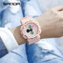 Đồng hồ SANDA Chính Hãng Phong Cách Thể Thao - 6027 Series