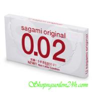 Sagami Original 0.02 hộp 2s