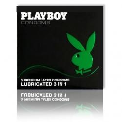 Bao cao su Play Boy 3 in 1 hộp 3s