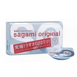 Sagami Original 0.02 hộp 6 chiếc