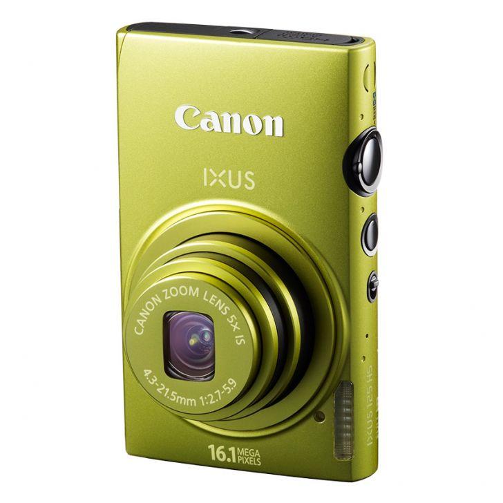 Canon Ixus 125 HS – 16.1MP / Xanh lá