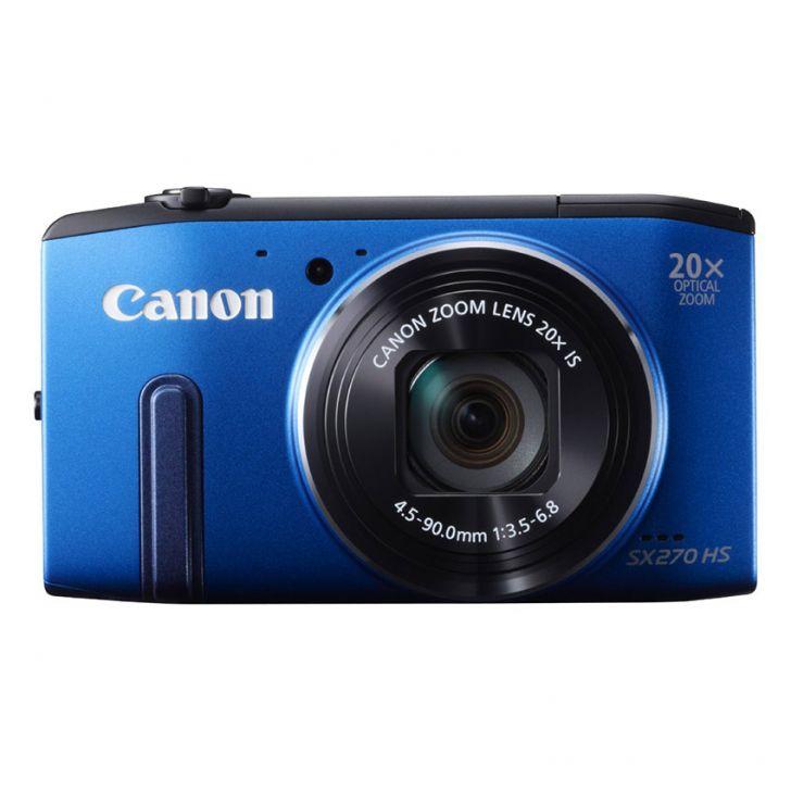 Canon PowerShot SX270 HS – 12.1MP / Xanh dương